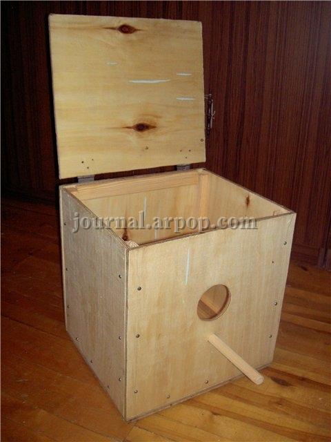 Как и из чего сделать домик для попугаев